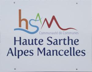 Logo Communauté de Commune Haut Sarthe Alpes Mancelles