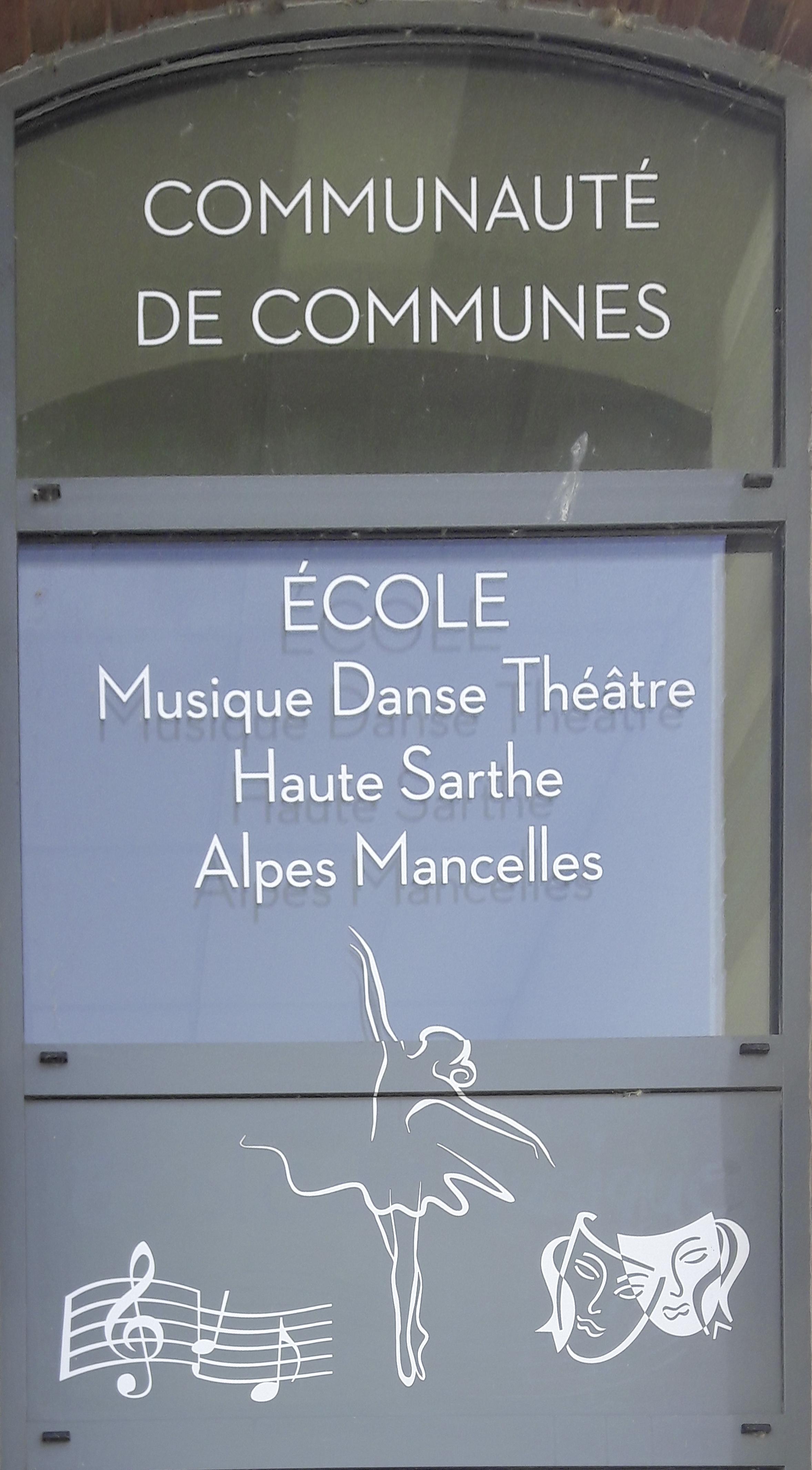 Ecole Musique Danse théatre des Alpes Mancelles