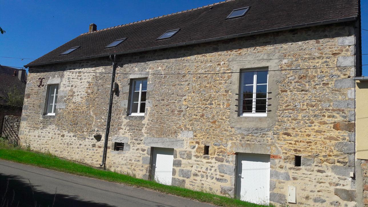 Photo de la maison de la pommeraie